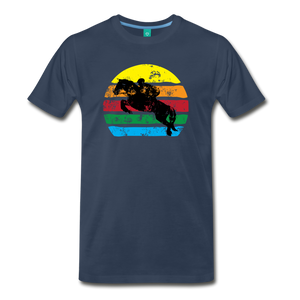 Men's Jumping Sun T-Shirt - navy