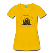 Load image into Gallery viewer, Women's Keep Calm, Camp On - sun yellow