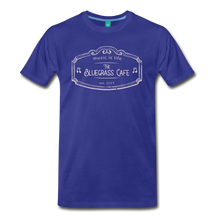 Load image into Gallery viewer, Men's The Bluegrass Cafe (music is life) T-Shirt - royal blue