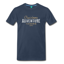 Load image into Gallery viewer, Men's Outdoor Adventure Canada T-Shirt - navy