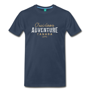Men's Outdoor Adventure Canada T-Shirt - navy