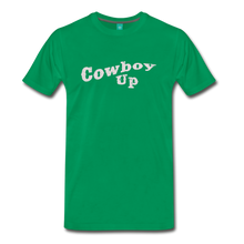 Load image into Gallery viewer, Men's Cowbou Up T-Shirt - kelly green