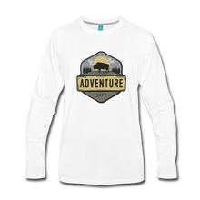 Load image into Gallery viewer, Men's Adventure Life Long Sleeve Shirt - white