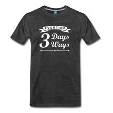 Load image into Gallery viewer, Men's 3 Days 3 Ways T-Shirt - charcoal gray