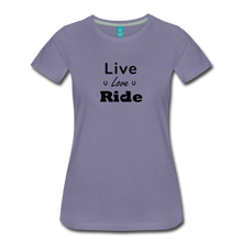 Load image into Gallery viewer, Women's Live Lover Ride T-Shirt - washed violet