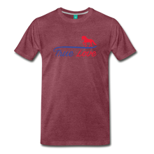 Load image into Gallery viewer, Men's True Love T-Shirt - heather burgundy