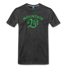 Load image into Gallery viewer, Men's Mountain Life (script) T-Shirt - charcoal gray