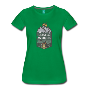Women's Lost T-Shirt - kelly green