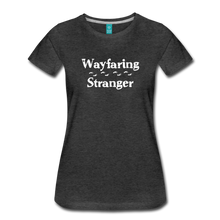 Load image into Gallery viewer, Women's Wayfaring Stranger T-Shirt - charcoal gray