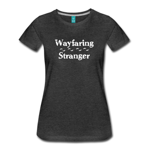 Women's Wayfaring Stranger T-Shirt - charcoal gray