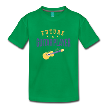 Load image into Gallery viewer, Toddler Guitar Player T-Shirt - kelly green