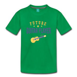 Toddler Guitar Player T-Shirt - kelly green