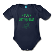 Load image into Gallery viewer, Future Dressage Queen Baby Bodysuit - dark navy