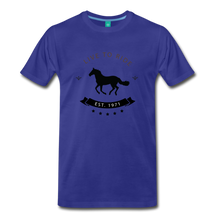 Load image into Gallery viewer, Men's Live to Ride T-Shirt - royal blue