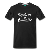 Load image into Gallery viewer, Men's Explore More T-Shirt - black