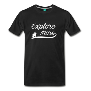 Men's Explore More T-Shirt - black