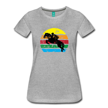 Load image into Gallery viewer, Women's Jumping Sun T-Shirt - heather gray