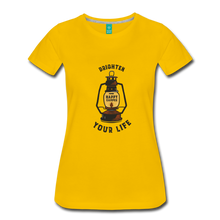 Load image into Gallery viewer, Women's Lantern T-Shirt - sun yellow