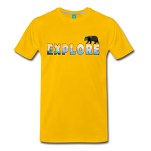 Load image into Gallery viewer, Men's Explore T-Shirt - sun yellow