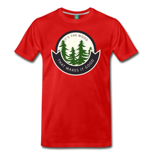 Load image into Gallery viewer, Men's Its the Wood T-Shirt - red