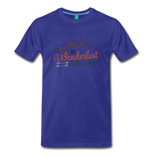 Load image into Gallery viewer, Men's Wanderlust T-Shirt - royal blue