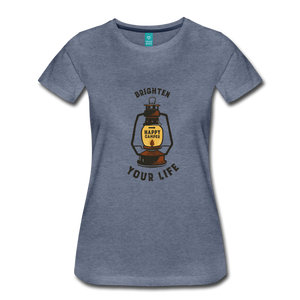 Women's Lantern T-Shirt - heather blue