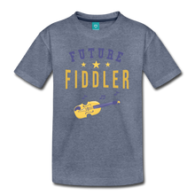 Load image into Gallery viewer, Kids' Future Fiddler T-Shirt - heather blue