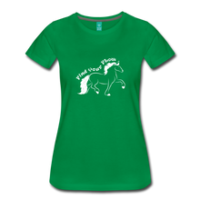 Load image into Gallery viewer, Women's Find Your Flow T-Shirt - kelly green