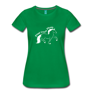 Women's Find Your Flow T-Shirt - kelly green