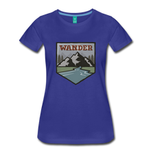 Load image into Gallery viewer, Women's Wander T-Shirt - royal blue