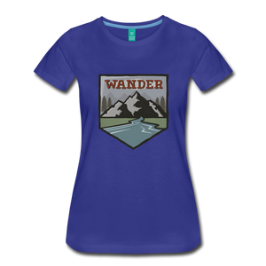 Women's Wander T-Shirt - royal blue
