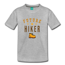 Load image into Gallery viewer, Toddler Future Hiker T-Shirt - heather gray