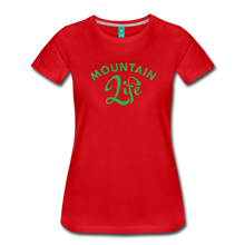 Load image into Gallery viewer, Women's Mountain Life (script) T-Shirt - red