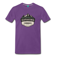 Load image into Gallery viewer, Men's Kayaking T-Shirt - purple