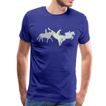 Load image into Gallery viewer, Men's Shadowed Eventing T-Shirt - royal blue