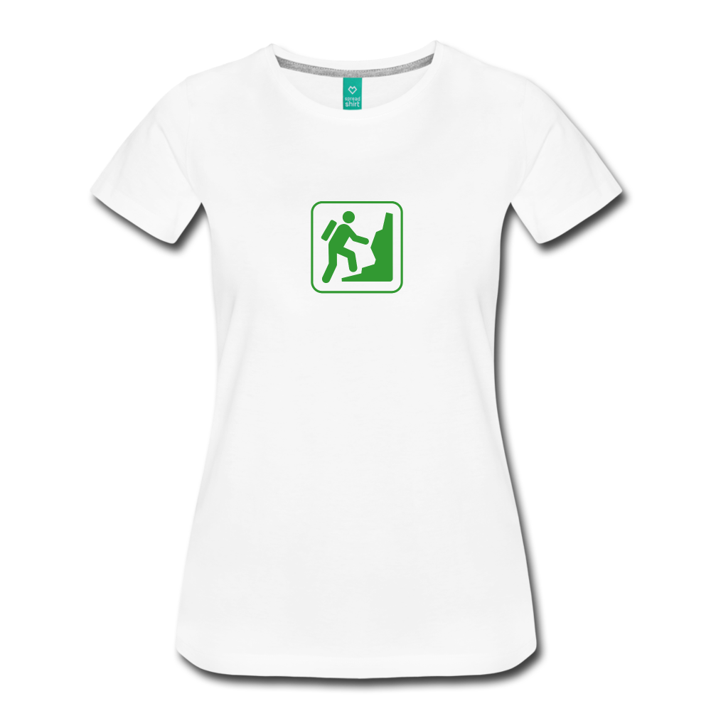 Women's Climb Icon T-Shirt - white