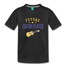 Load image into Gallery viewer, Toddler Guitar Player T-Shirt - black