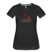 Load image into Gallery viewer, Women's Peak Horse Clothing Co. T-Shirt - black