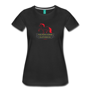 Women's Peak Horse Clothing Co. T-Shirt - black