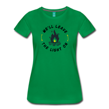 Load image into Gallery viewer, Women's We'll Leave the Light On T-Shirt - kelly green