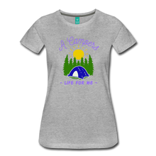 Load image into Gallery viewer, Women's Campers Life T-Shirt - heather gray