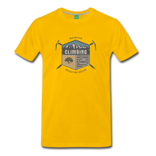 Load image into Gallery viewer, Men's Climbing T-Shirt - sun yellow