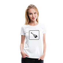 Load image into Gallery viewer, Women's Mandolin Icon T-Shirt - white