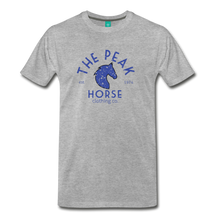 Load image into Gallery viewer, Men's The Peak Horse (art-deco) T-Shirt - heather gray