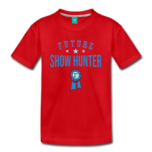 Load image into Gallery viewer, Kids' Future Show Hunter T-Shirt - red