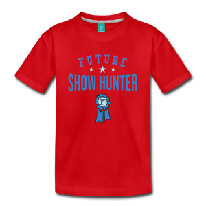 Kids' Future Show Hunter T-Shirt - red