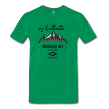 Load image into Gallery viewer, Men's Dark Authentic Mountain Life Clothing Co. T-Shirt - kelly green