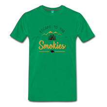 Load image into Gallery viewer, Men's Escape to the Smokies T-Shirt - kelly green