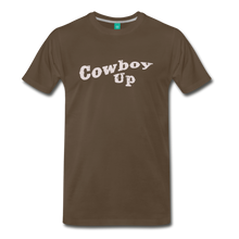 Load image into Gallery viewer, Men's Cowbou Up T-Shirt - noble brown