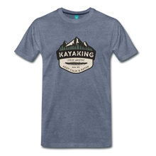Load image into Gallery viewer, Men's Kayaking T-Shirt - heather blue